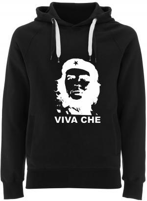 Fairtrade Pullover: Viva Che Guevara (weiß/schwarz)
