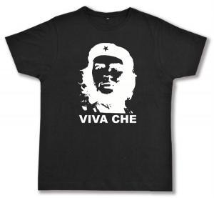 Fairtrade T-Shirt: Viva Che Guevara (weiß/schwarz)