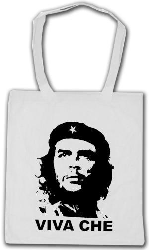Baumwoll-Tragetasche: Viva Che Guevara