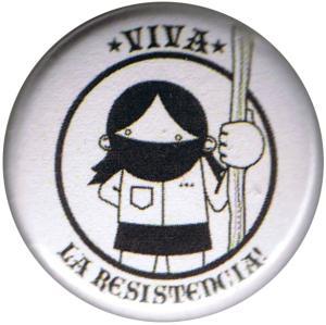 25mm Button: Viva la Resistencia!