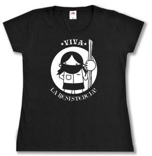 tailliertes T-Shirt: Viva la Resistencia!