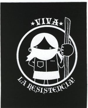 Aufnäher: Viva La Resistencia!