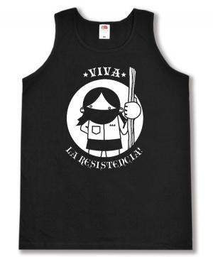 Man Tanktop: Viva la Resistencia!