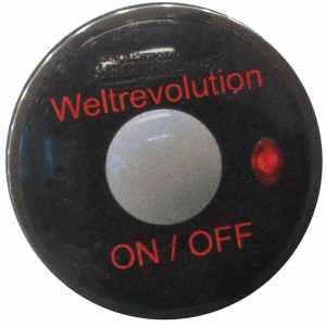 50mm Magnet-Button: Weltrevolution