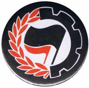 37mm Magnet-Button: Working Class Antifa