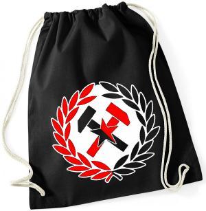 Sportbeutel: Working Class Hammer (rot/schwarz)