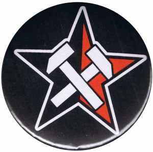 50mm Magnet-Button: Working Class Stern
