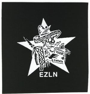 Aufnäher: Zapatistas Stern EZLN