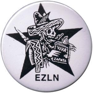 37mm Button: Zapatistas Stern EZLN