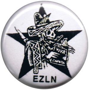 50mm Magnet-Button: Zapatistas Stern EZLN