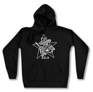 taillierter Kapuzen-Pullover: Zapatistas Stern EZLN