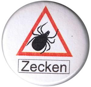 37mm Magnet-Button: Zecken
