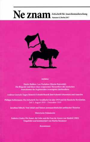 Buch: Zeitschrift für Anarchismusforschung Nummer 6 | Herbst 2017
