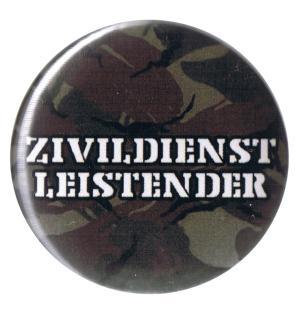 37mm Button: Zivildienstleistender