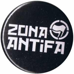 37mm Magnet-Button: Zona Antifa