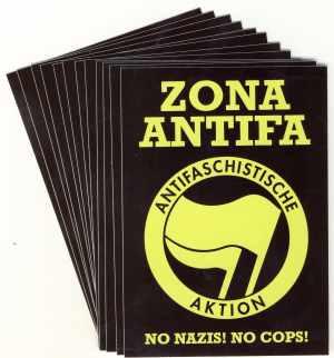 Aufkleber-Paket: Zona Antifa
