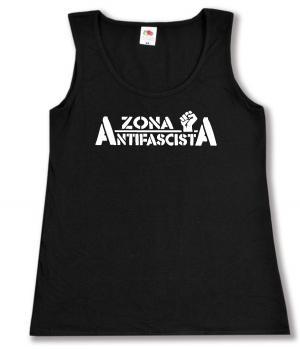 tailliertes Tanktop: Zona Antifascista