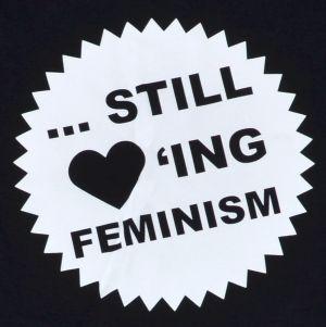 Detailansicht T-Shirt: ... still loving feminism
