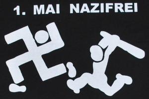 Detailansicht T-Shirt: 1. Mai Nazifrei