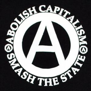 Detailansicht Tanktop: Abolish Capitalism - Smash The State