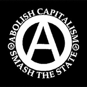 Detailansicht Polo-Shirt: Abolish Capitalism - Smash The State