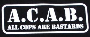 Detailansicht Tanktop: A.C.A.B. - All cops are bastards