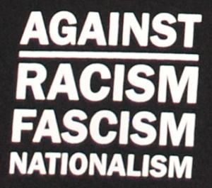 Detailansicht Shorts: Against Racism, Fascism, Nationalism