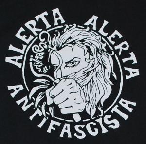 Detailansicht Sweat-Jacket: Alerta Alerta Antifascista