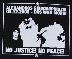 Detailansicht tailliertes T-Shirt: Alexandros Grigoropoulos