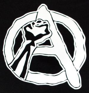 Detailansicht Man Tanktop: Anarchie Faust