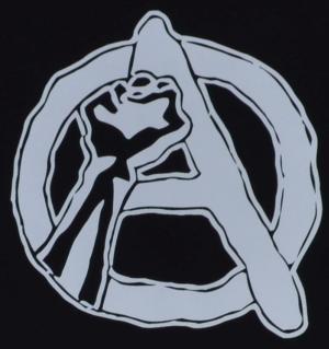 Detailansicht T-Shirt: Anarchie Faust