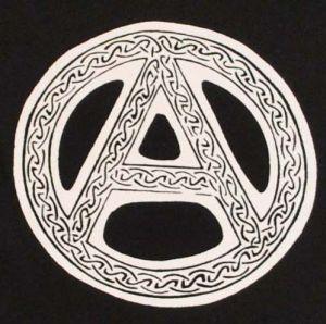 Detailansicht T-Shirt: Anarchie - Tribal