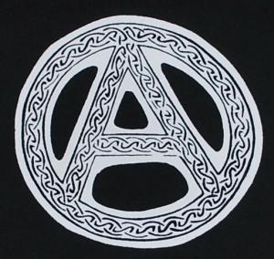 Detailansicht Kapuzen-Jacke: Anarchie - Tribal