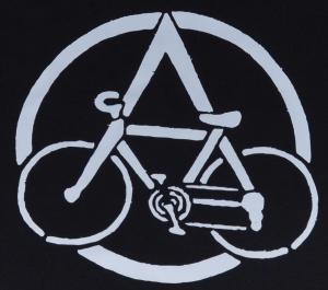 Detailansicht tailliertes Tanktop: Anarchocyclist