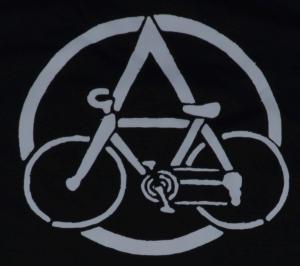 Detailansicht Fairtrade T-Shirt: Anarchocyclist