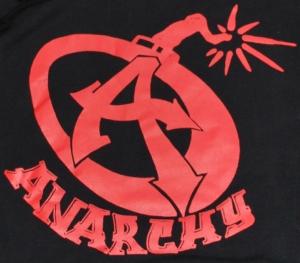 Detailansicht Kapuzen-Pullover: Anarchy A