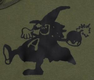Detailansicht Kapuzen-Pullover: Anarchy Bomb