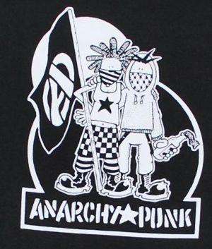 Detailansicht T-Shirt: Anarchy Punk