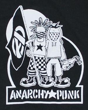 Detailansicht Kapuzen-Jacke: Anarchy Punk