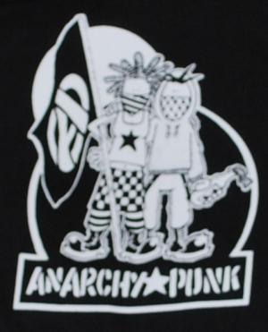 Detailansicht Kapuzen-Pullover: Anarchy Punk