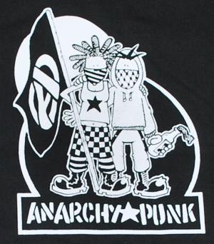 Detailansicht Sweat-Jacket: Anarchy Punk