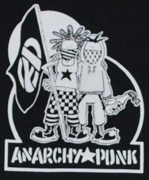 Detailansicht Kapuzen-Longsleeve: Anarchy Punk