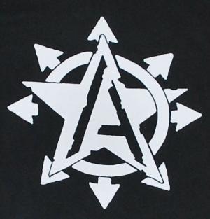 Detailansicht Kapuzen-Jacke: Anarchy Star