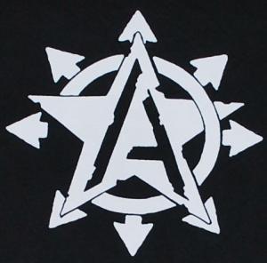 Detailansicht Longsleeve: Anarchy Star