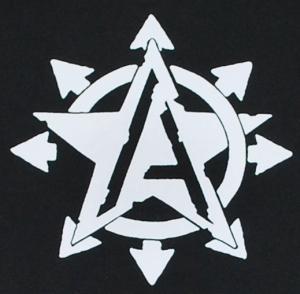 Detailansicht Sweat-Jacket: Anarchy Star