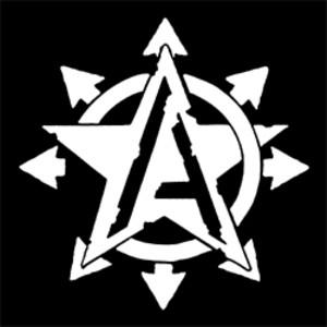 Detailansicht Polo-Shirt: Anarchy Star