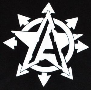 Detailansicht tailliertes Tanktop: Anarchy Star