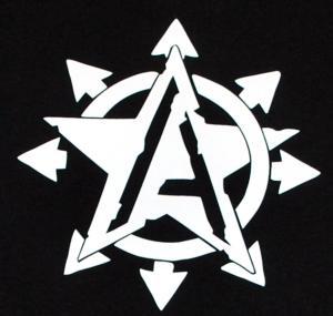 Detailansicht Tanktop: Anarchy Star