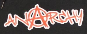 Detailansicht Kapuzen-Pullover: Anarchy