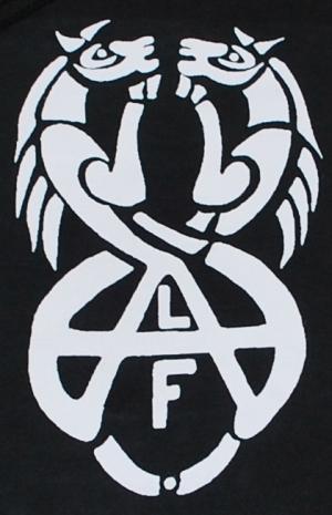 Detailansicht Kapuzen-Pullover: Animal Liberation Front (ALF) Horses